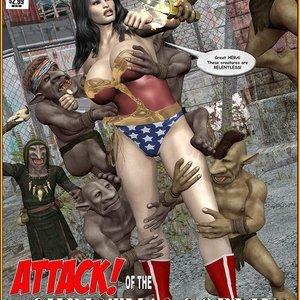 Xmas 2017 – Wonder Woman – Attack of the Christmas Goblins (Central Comics) thumbnail