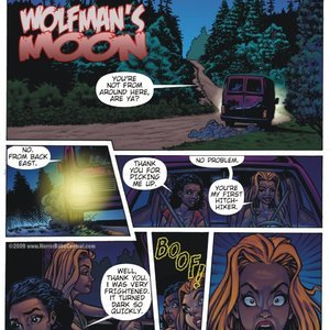 Wolfmans Moon Central Comics