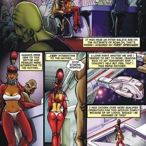 Alien Huntress Central Comics