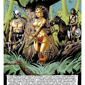 Sexing With The Saxons (Classic Comics Collection) thumbnail