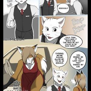 The Valet & The Vixen 1 ClubStripes Comics