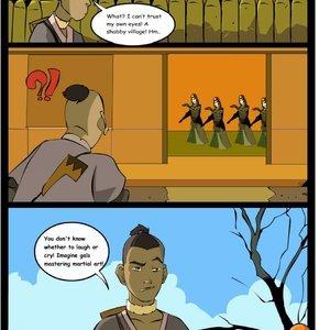 Avatar the Last Airbender Comics-Toons Comix