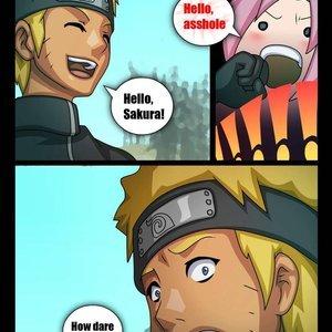 Naruto X Sakura Comics-Toons Comix