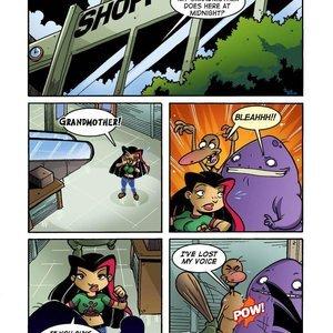 The Life and Times of Juniper Lee Comics-Toons Comix