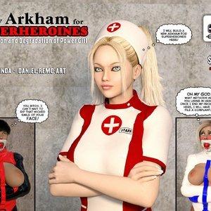 New Arkham For Superheroines (DBComix – Deviant Bondage Comics) thumbnail