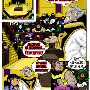 DTiberius Comics Queen of the Hive gallery image-003
