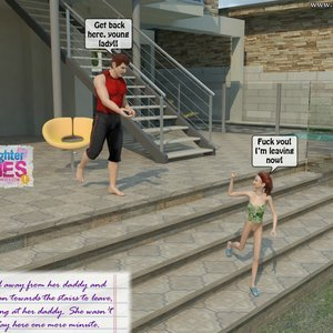 Dad and Daughter Diaries Comics Clean the Pool gallery image-014