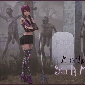 A Candle to San La Muerte Damn3D Comics