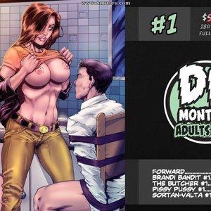 DB Monthly – Issue 1 DarkBrain Comics