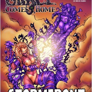 DarkBrain Comics Grace Comes Home - Stormfront - Issue 1-10 gallery image-001