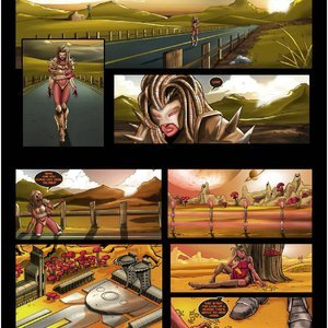 DarkBrain Comics Grace Comes Home - Stormfront - Issue 1-10 gallery image-074