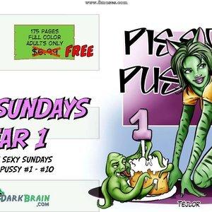 Year 1 DarkBrain Comics