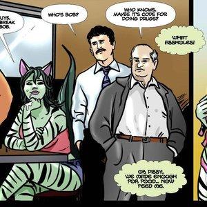 DarkBrain Comics Year 3 - Issue 18 gallery image-007