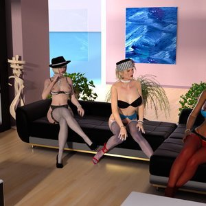 DarkSoul3D Comics Lady Jane - Orgy gallery image-002