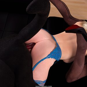 DarkSoul3D Comics Lady Jane - Orgy gallery image-048