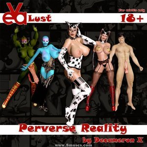 Eva Lust – Issue 1 – Perverse Reality Decameron X Comics
