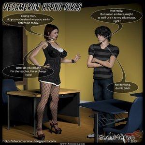 Hypno Girls – Denise sexy teacher Decameron X Comics
