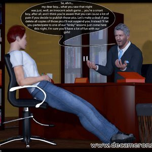 Decameron X Comics Hypno Girls - Kinky School - Feminization Lesson gallery image-007