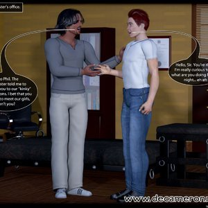 Decameron X Comics Hypno Girls - Kinky School - Feminization Lesson gallery image-008