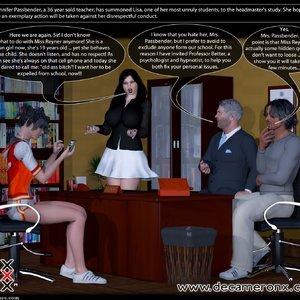 Decameron X Comics Hypno Girls - Kinky School Part One gallery image-002
