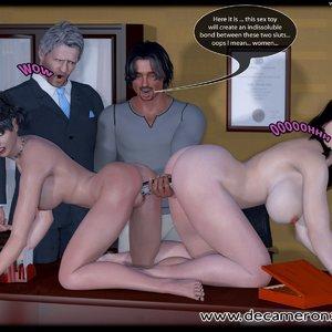 Decameron X Comics Hypno Girls - Kinky School Part One gallery image-009