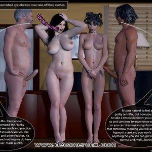 Decameron X Comics Hypno Girls - Kinky School Part One gallery image-014