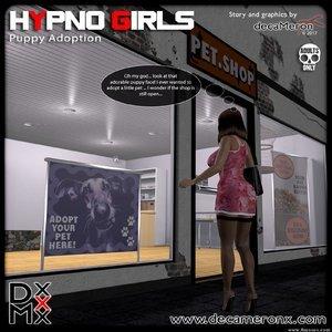 Hypno Girls – Puppy adoption Decameron X Comics