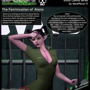 S.P.E.R.M. – The Feminization of Atena Decameron X Comics