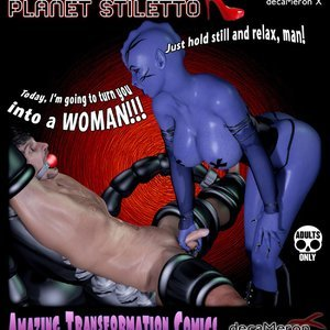 The Chronicles of Planet Stiletto – Issue 1 (Decameron X Comics) thumbnail