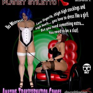 The Chronicles of Planet Stiletto – Issue 2 Decameron X Comics