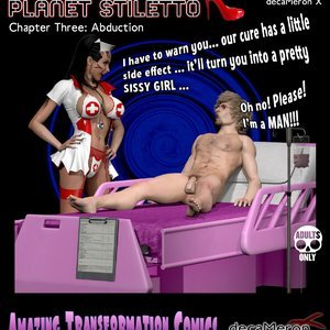 The Chronicles of Planet Stiletto – Issue 3 (Decameron X Comics) thumbnail