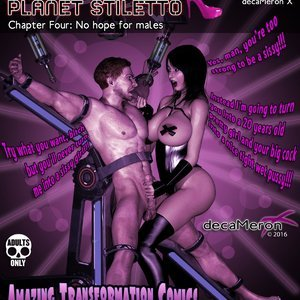 The Chronicles of Planet Stiletto – Issue 4 (Decameron X Comics) thumbnail