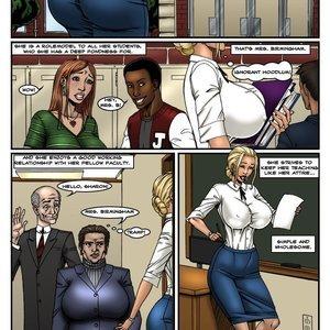 Hard Lesson 2 Nude comics