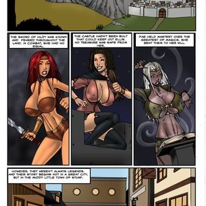 Lust of Legend Cartoon Porn Comics