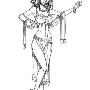 Deuce Comics Sketches gallery image-024