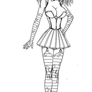 Deuce Comics Sketches gallery image-027