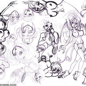 Deuce Comics Sketches gallery image-035