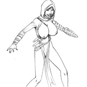 Deuce Comics Sketches gallery image-036