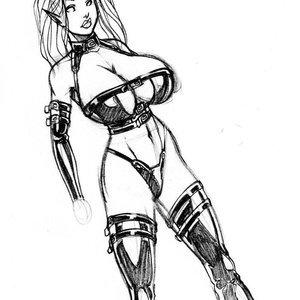 Deuce Comics Sketches gallery image-038
