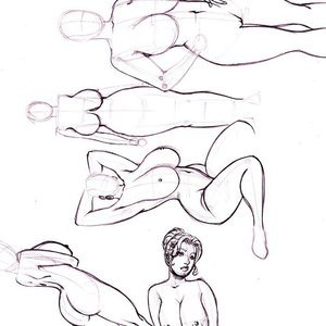 Deuce Comics Sketches gallery image-041