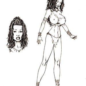 Deuce Comics Sketches gallery image-045