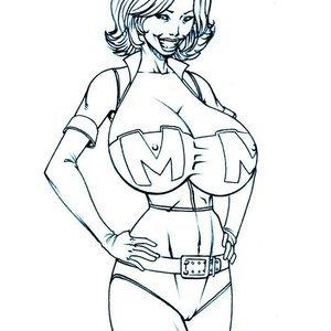 Deuce Comics Sketches gallery image-048