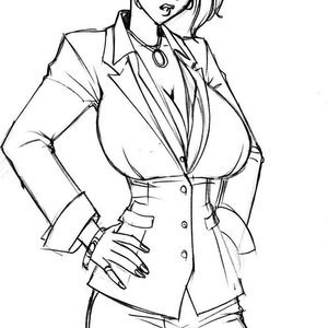 Deuce Comics Sketches gallery image-060