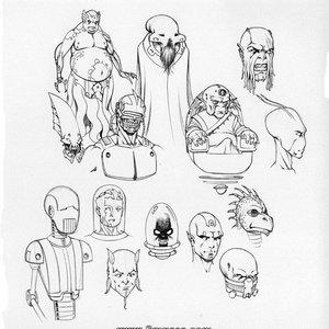 Deuce Comics Sketches gallery image-063