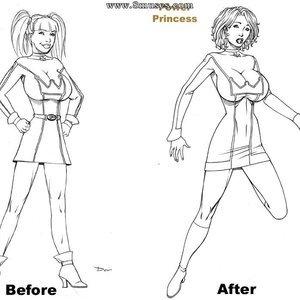 Deuce Comics Sketches gallery image-072