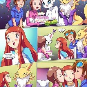 Digihentai Comics Happy Birthday Rika gallery image-002