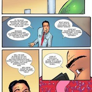 DNA Dirty Comics