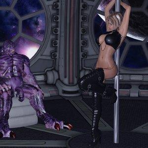 Sasha and Violet Creature DizzyDills Comics