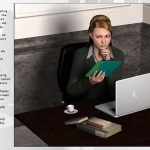 Dollproject Comics The Office Bimbo - Issue 2 gallery image-004