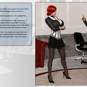 Dollproject Comics The Office Bimbo - Issue 2 gallery image-024